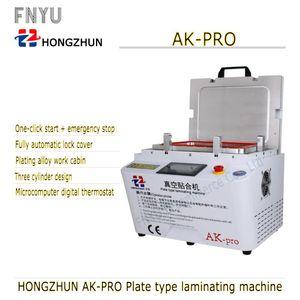 Automatico vuoto macchina di laminazione HZ AK-pro - X Bubble Remover macchina pompa integrata per telefoni Samsung Riparazione Ristrutturazione