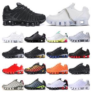 Mens ayakkabı TL koşu ayakkabıları siyah beyaz Metalik Viotech pastel Sarı Neymar spor açık moda Rahat Shox womens şafağa