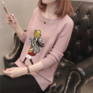 Cheap wholesale new summer Hot selling womens fashion casual warm nice Sweater L403 Drop Shipping