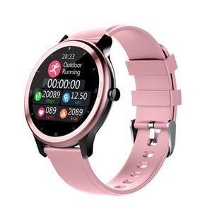 Presión inteligente reloj G28 hombres de venda del ritmo cardíaco Sangre del deporte del monitor multifunción Modo a prueba de agua rastreador de ejercicios SmartWatch