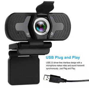 1080P HD USB webcam per PC desktop portatile Web IP Camera con microfono HD videocamere consumer nuova