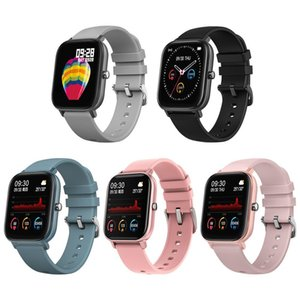 IP67 P8 Smart Watch Wristband Men Women Fitness Track Sport Clock Heart Rate Monitor Sleep Monitor Smartwatch tracker for phone accessories