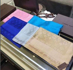 Дизайнер шелк Длинный шарф для женщин Горячей Продажи Brand Letter Printed шарфы шаль пашмины летних Больших Hijab Шарфов Для дашь 180x90cm T636
