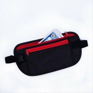New Anti theft Waist Bag Men Belt Fashion Female Solid Color Handbag Unisex Fanny Pack Ladies Waist Pack Belly Bags Phone Pouch