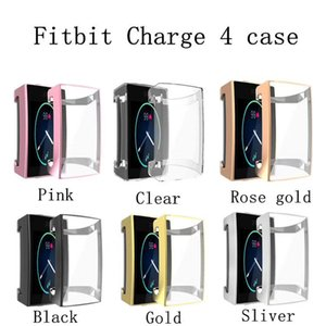 Screen Protector Case For Fitbit Charge 4 3 2 All-Around Ultra Slim Soft TPU Watch Cover Protective Bumper Shell