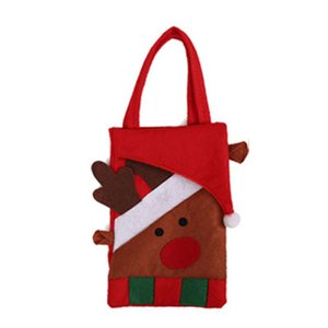 Santa Claus Christmas Candy Bag Elf Elk Pants Treat Pocket Home Party Decor Gift for Christmas Festival Indoor Party