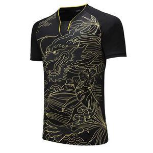 CHINA Dragon Team table tennis shirt Men   Women, Tennis t-shirts ,sports golf Pol o shirt , pingpong sports t-shirt 202#