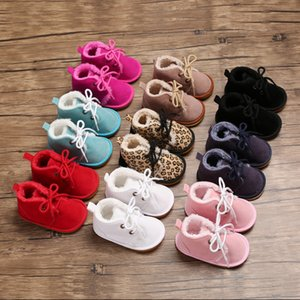 Baby Snow Boots Strappy Infant Booties Boys Baby Arrival Winter Toddler Warm Boots Girls Fur Style Little Kids Newborn Shoes Vlvgo