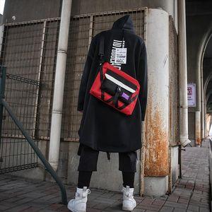 Messenger Shoulder Bag For Teenager Bag Leisure Waterproof Man Nylon student kits rotating cross street trend dead fly package