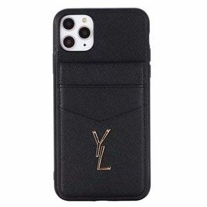 Designer-Telefon-Kasten für iPhone 11 Pro Max X XS Max XR 8 7 Plus Samsung Note 20 Ultra 10 S20 S10 Luxus Leder-Taschen-Telefon-Kästen