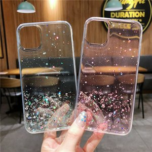 Bling Glitter Case For iPhone 11 Pro Max XR XS 8 Clear Gel Soft Phone Case Cover