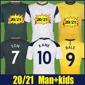 2020 Harry Kane camisa de futebol LO CELSO Bergwijn jérsei de futebol Lilywhites NDOMBELE DELE SON Bale camisas do futebol da camisa dos homens crianças kit 20/21