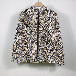 20FW Herbst-Winter-New Herren und Damen doppelseitigen Trenchcoat slim fit Printed Hochwertige Jacke Mens Designer Paar Jeansjacken