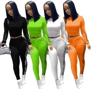 Leggings Piece Trousers 2 Two Tracksuit Outfits Pant Set Fashion Size Shirt T Designer Casual Women Sexy Plus Clothing Printing Jogging Kxso