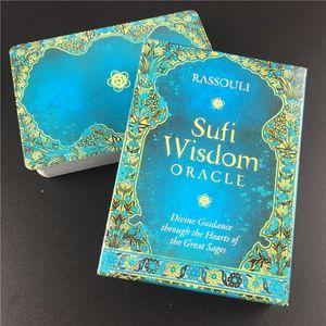 Patry Oracle 2020 Hot-Karten für Sufi Spiele Wisdom Selling Tarot-Karten Deck Stock Game Cards PVTBR bdetoys