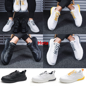 2020 New Release Men Women Casual Platform Shoes Sneakers Wear Resistant Black Yellow White Lightweight Walking Hiking Casual Shoes EUR39-45