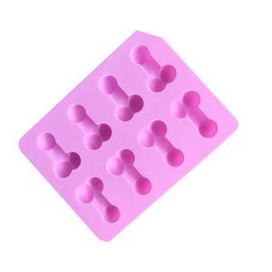 Degustar de silicona Moldes Accesorios de Cocina Decoración de Pasteles Moldes Gadgets del cubo de hielo del molde DIY de la categoría alimenticia de verano originalidad 2 9LD F2