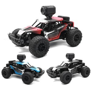 20km h 2.4G Speed Remote Wifi Phone Radio Control Road Car Vehicle Mobile 1:18 High Camera Off Racing Toy Climbing Oqgrh