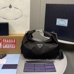 2020 Vente 4 sacs fourre-tout couleur ensemble concepteur hobo femmes sac à bandoulière sacs à main véritable sacs à main en nylon dame sacs fourre-tout Porte-Monnaie trois article