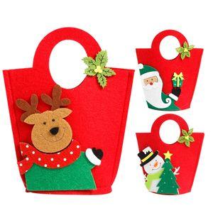 Рождественские подарочные пакеты год украшения Navidad Рождество конфеты мешок Санта-Клаус Снеговики мешок подарков Дети сумка для хранения. 11