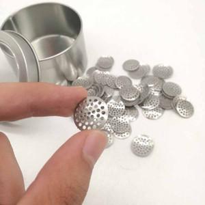 8mm 12mm 15mm 16mm schermi di titanio in Acciaio Inossidabile Ciotola Filtro a rete da pipe filtro a rete Tabacco Accessori HWB717