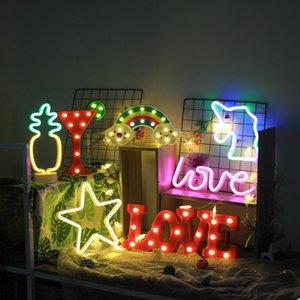 cgjxs luminoso 3d lettera 10 Numero Led lampada da parete Hanging Wedding Party Decoration
