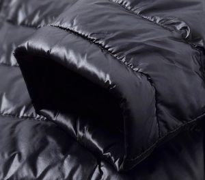 Men's Down Jacket Long Men's Clothing Ultra Light Down Jacket Men Autumn Winter Coat Bodywarmer Casacos Masculino Y02899