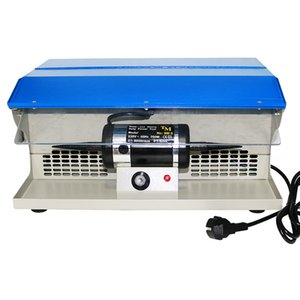 DM-5 Polishing Buffing Machine With Dust Collector Bench Jewelry Polisher Double Cloth Wheel Grinding Machine 0-8000RPM 200W