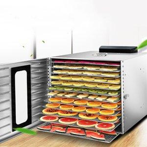 Secador de desidratação Multifuncional Dried Fruit Machine carne seca Zero Fruit and Vegetable Secador