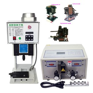 LY 1.5T Automatic Terminal Crimpmaschine Horizontale Vertikale Mold SWT508C 1mm-2.5mm2 Computer-Draht-Peeling Stripping