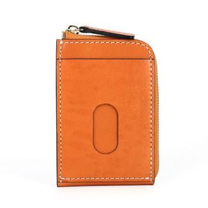 VANNOGG 2020 Fashion genuine leather men wallet Leisure women wallet leather purse for men card holders wallet free C6169