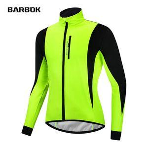 WOSAWE Hombres Senderismo chaqueta de abrigo de polar chaqueta caliente hasta MTB a prueba de viento reflectante rompevientos para completar un ciclo camping