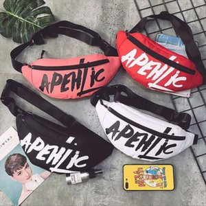 Hirigin New Men Women Waist Bag Bum Fanny Pack Hip Hop Waist Packs Zip Belt Money Pouch 4 colors