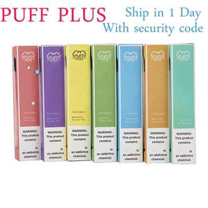 Puff artı olarak stok en kaliteli OEM hızlı Ücretsiz Kargo Nakliye Barlar puflar atıştırmalıklar akış çubuğu artı Puff Plus'ı ambalaj 60 yeni renkler karşıladı