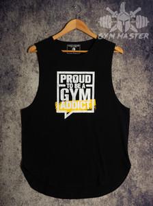 Training Suit Trainingspak Gym Bodybuilding Vest Online Crop Shirt Loose Breeze Price Singlet Sleeveless Stringer Slogan Vests Muscle Work