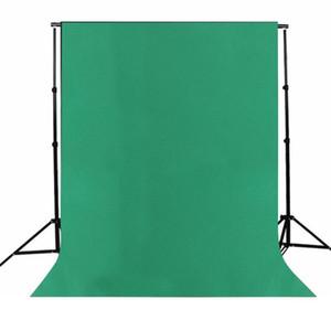 Fundos Foto Estúdio de Fotografia Pano de fundo da tela de pano verde algodão de alta qualidade Photo Studio fundos da cor sólida