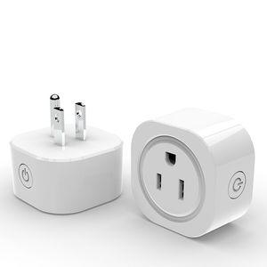 Interruptor Cgjxs Wifi inteligente Smart Plug Socket control remoto Trabajo de salida con inicio Cambiar de temporización para Smartphone