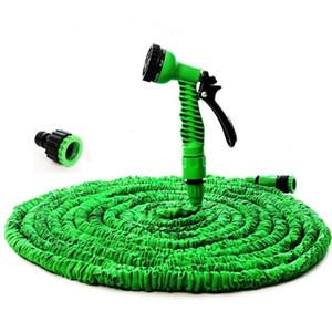 magia 25-200FT tubo da giardino tubo flessibile espandibile Garden bobine acqua + Pistola per l'irrigazione irrigazione