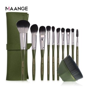 MAANGE Pro 5 10 11cs Makeup Brushes Set Foundation Brush BB Cream Eye Shadow Face Brushes For Makeup Best Cosmetic Tools New