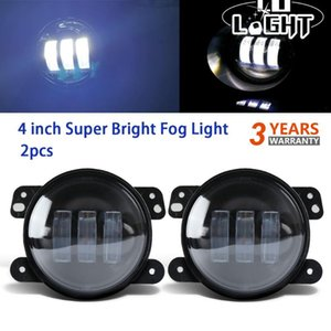 CO LÉGER 2PCS 4 pouces 30W Led Lamp Assembly Fog Off Road Car Auto 12V 24V Lumière