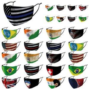 Maschere di sconto Naso Bandiere cotone Grooth panno United Arab copertura in Australia confezionato singolarmente Unito Paesi Hllzx