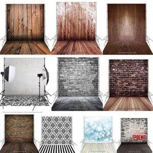 1 .5x2m Photographie fond de studio écran Tissu Toile de fond classique en bois Sol en bois pour appareil photo studio photo éclairage