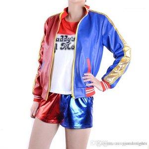 Quinn Stand Collar Long Sleeve Female Clothing Fashion Style Casual Apparel Womens Autumn Designer Joker Jackets Harley