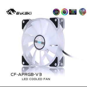 Bykski CF-APRGB-X-V3 Radiator Fans RGB CASE FAN 6Pin Header 11 leaf 120mm RGB Motherboard Remote Control Symphony PC Cooling