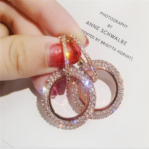 New York Stylist Earrings Fashion Crystal Drop Earrings with Big Diamond Alloy Jewelries Cheap Fashion Jewelries Women gifts .