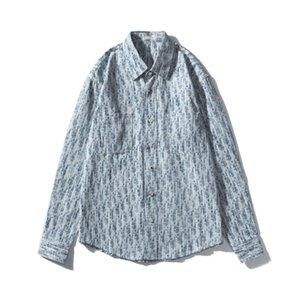 남성 데님 재킷 남성 여성 높은 품질의 유명한 캐주얼 겨울 코트 패션 남성 자켓 세련된 착실히 보내다 20ss