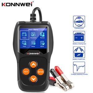 KONNWEI KW600 batterie de voiture 12V testeur 100 à 2000CCA 12 Volts Les outils batterie pour la voiture rapide Cranking de charge de diagnostic