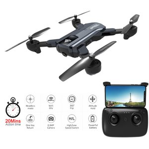 WIFI FPV Camera Drone GPS F196 X192 20mins long flying Optical Flow Drones with Camera HD RC Helicopter V SG900 Syma x5C Toys T200917