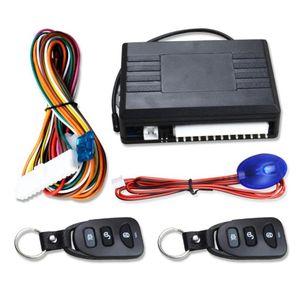 12V Car Remoto Central Door Lock Keyless sistema remoto de alarme de carro Controle Fecho Centralizado de Sistemas com Kit Auto