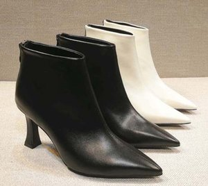 Classics Fashionable And Exquisite Womens Boots High Heels And Genuine Leather Outdoors fashion boots 01 P24